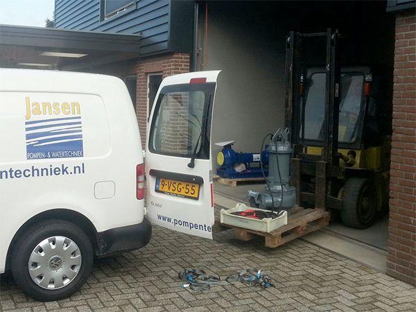 Pompen van Jansen Pompentechniek